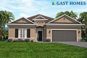 Ranch Slab Grade Florida House Plan