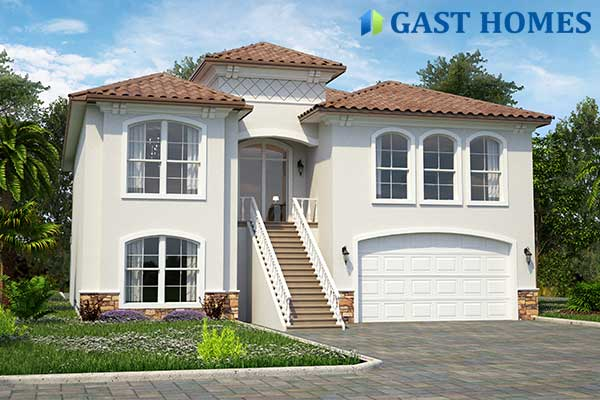 Florida Elevated House Plans