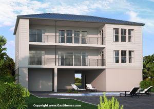 Bahama Bay Rear Florida House Plan