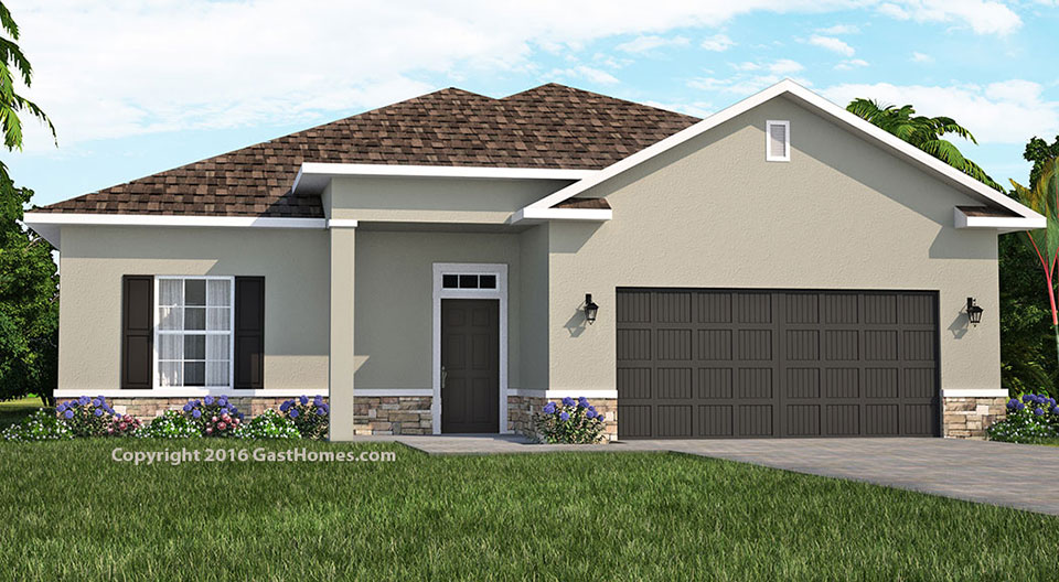 Spring Ridge | Florida House Plan | David Christ & ociates on concrete house designs, zero energy house designs, ice house designs, sap house designs, wood house designs, straw bale house designs, log house designs, timber frame house designs,