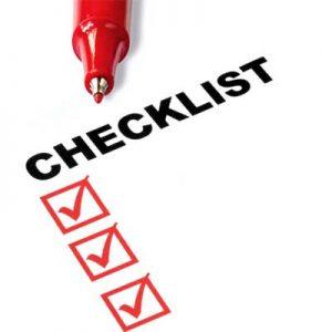 Construction Loan Checklist