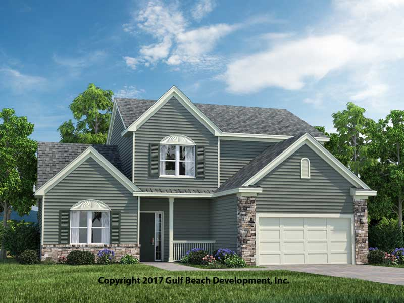 Windstone two-story house plan