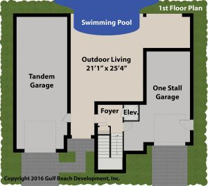 Bahama Bay 1st floor house plan