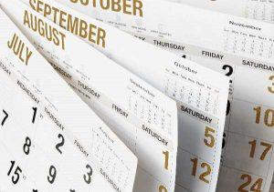 Construction Calendar