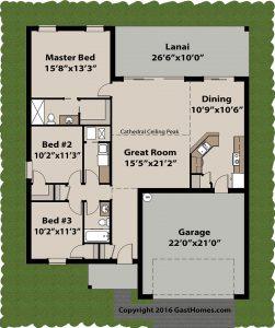 Spring Ridge ICF home plans Floor plan