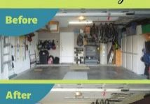 How to makeover your garage while on a budget