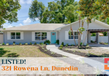 Just Listed - Rowena Ln, Dunedin - David Christ Realtor